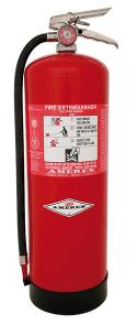 AMEREX High Quality Stainless Steel 9 Litre water fire extinguisher